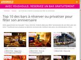 Bars anniversaire sur Paris